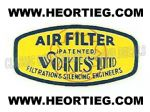 VOKES AIR FILTER TRANSFER 1950'S AND 1960'S D50415